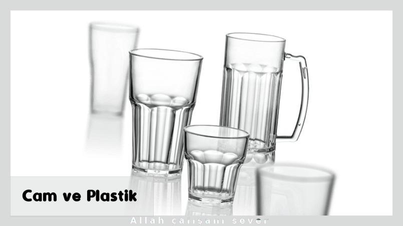 Cam ve Plastik sektörü