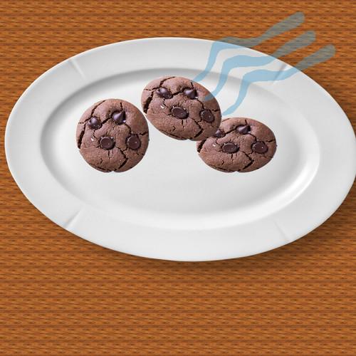 Fakat tabakta sadece 3 tane kurabiyeyi görünce şaşırır
