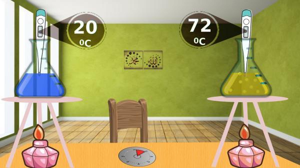 Farklı maddelerin sıcaklık değişimi